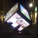 Cubo pubblicitario