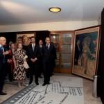 Mostra con il Presidente della Repubblica