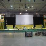 Prospetto fronte palco